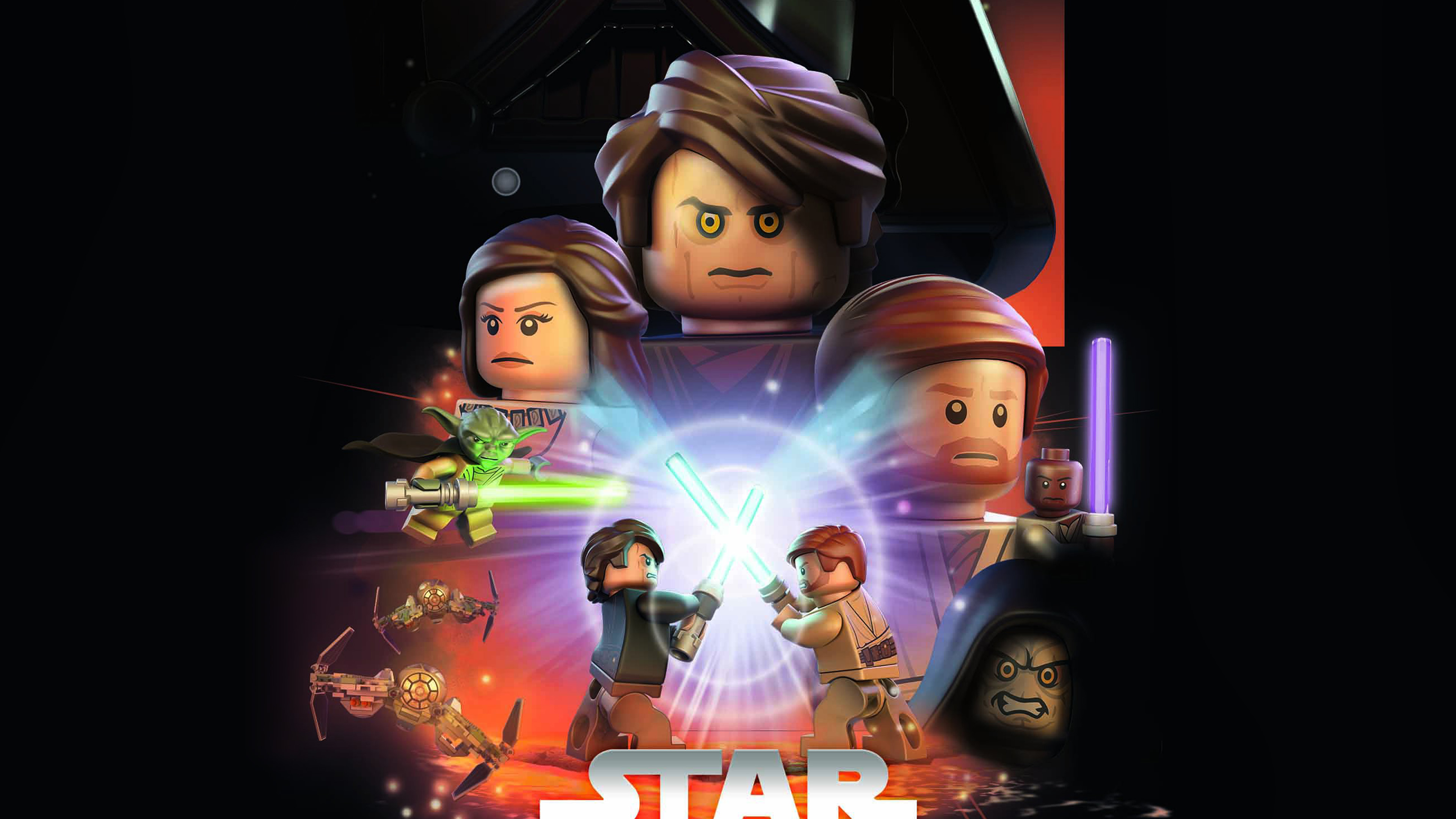 wallpaper for desktop, laptop ap22 starwars lego episode 3