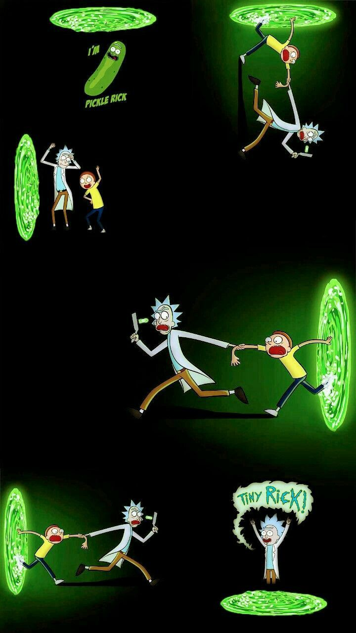 Rick And Morty Iphone Wallpaper Posted By Michelle Thompson