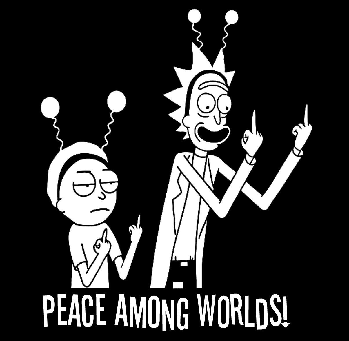 Rick And Morty Peace Among Worlds Wallpaper
