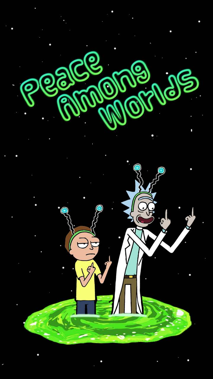 Rick And Morty Portal Wallpaper Posted By Zoey Simpson