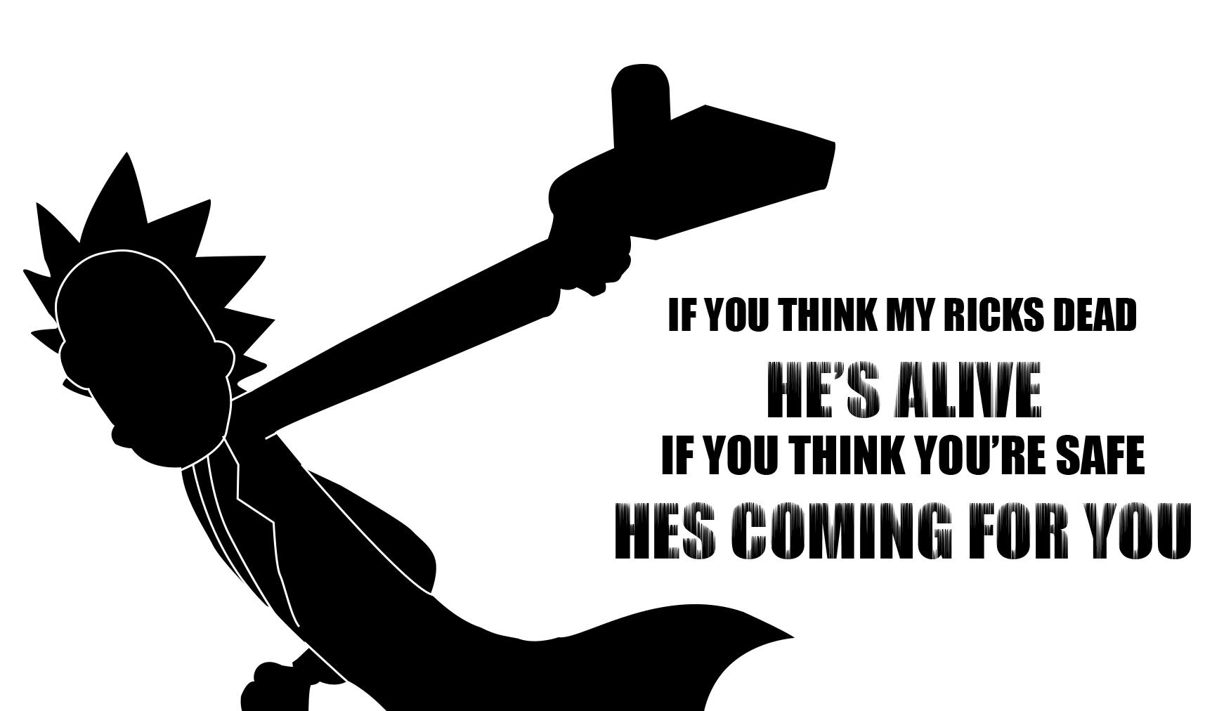 Rick And Morty Quotes Wallpaper Posted By Zoey Cunningham