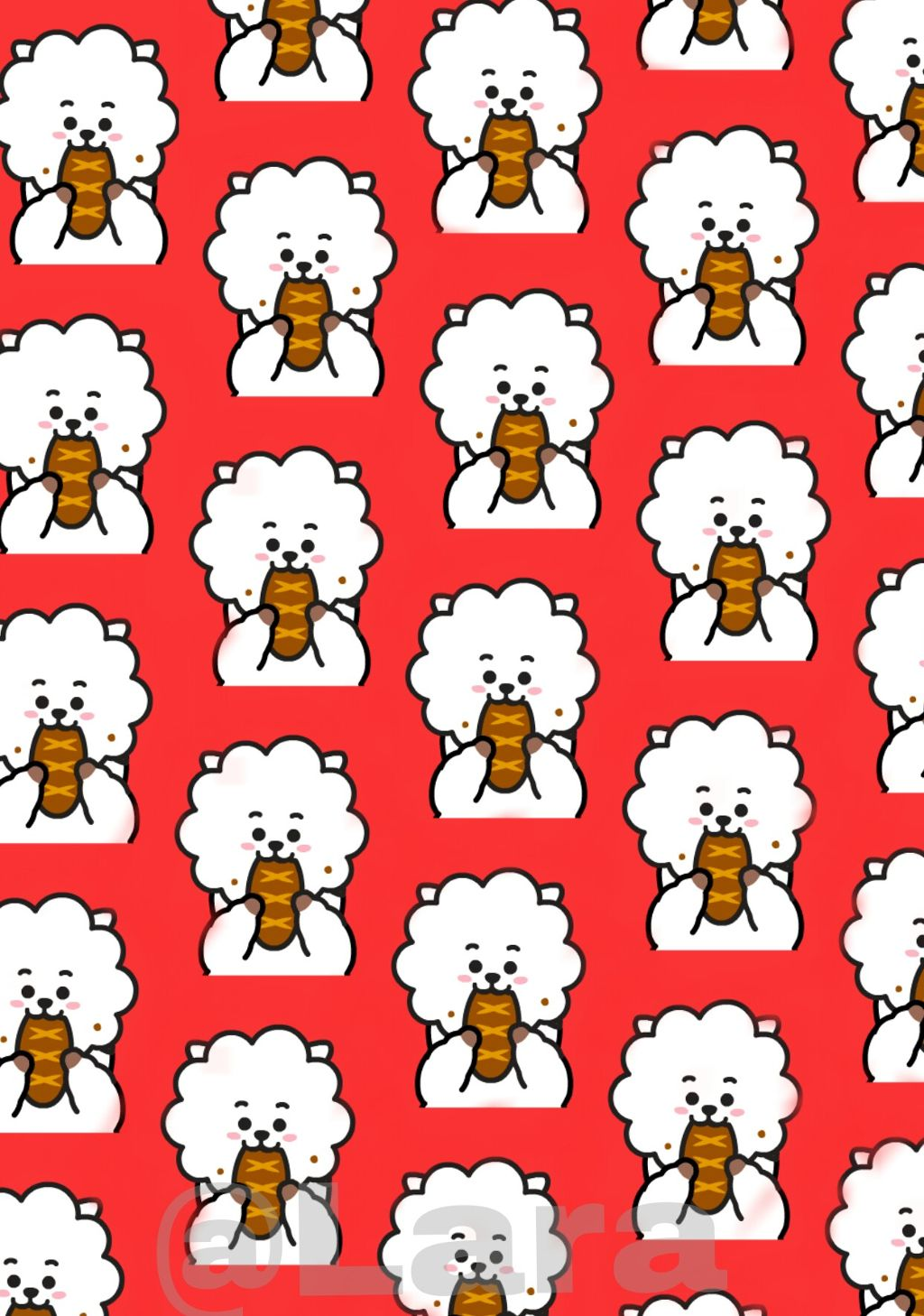 bts bt21 rj jin wallpaper freetoedit
