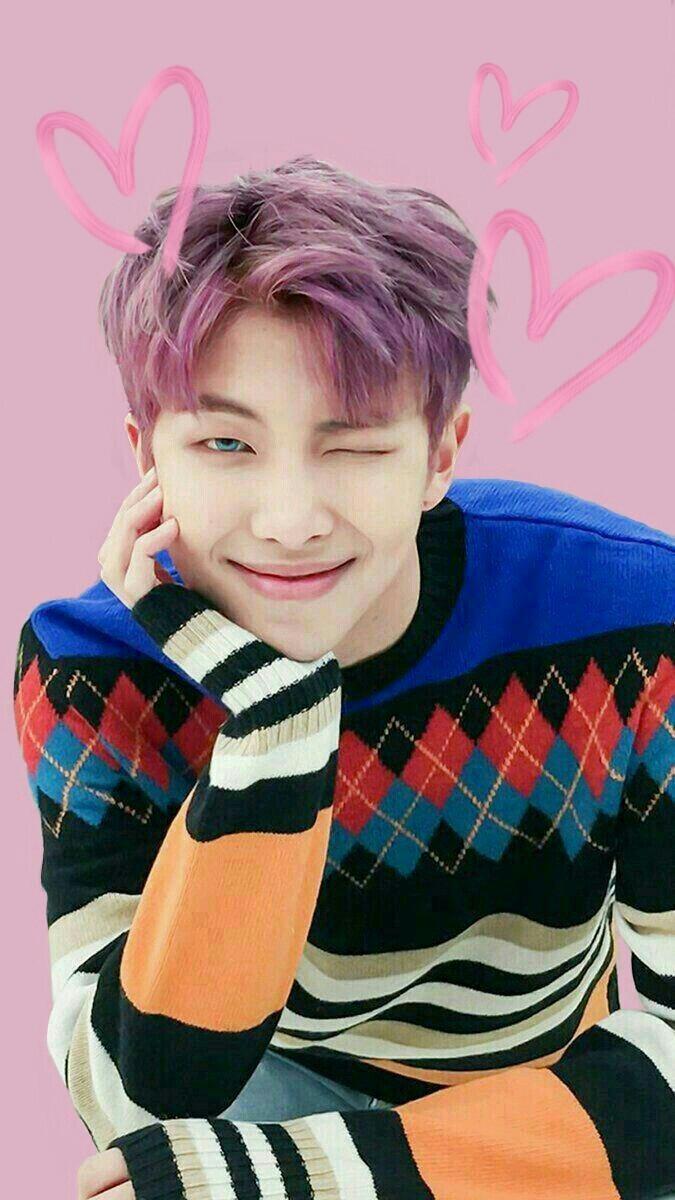Capa p caderno BTS Imprimira Wallpaper RM on We Heart It