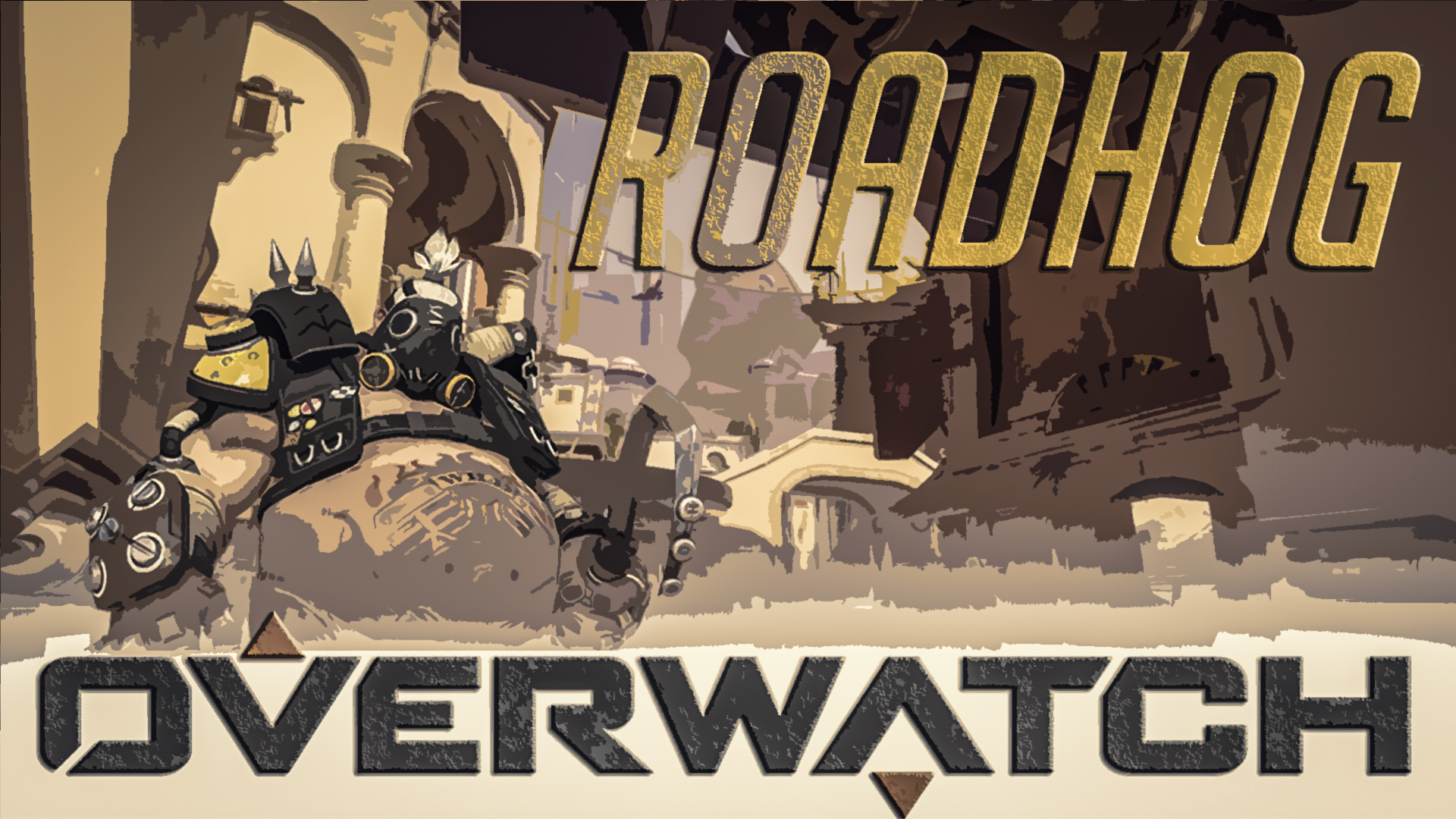 20+ Roadhog Overwatch Hd Wallpaper JPG