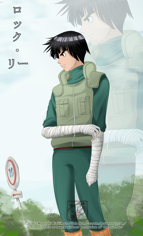 Espeongirl360 Images Rock Lee Hd Wallpaper And Background