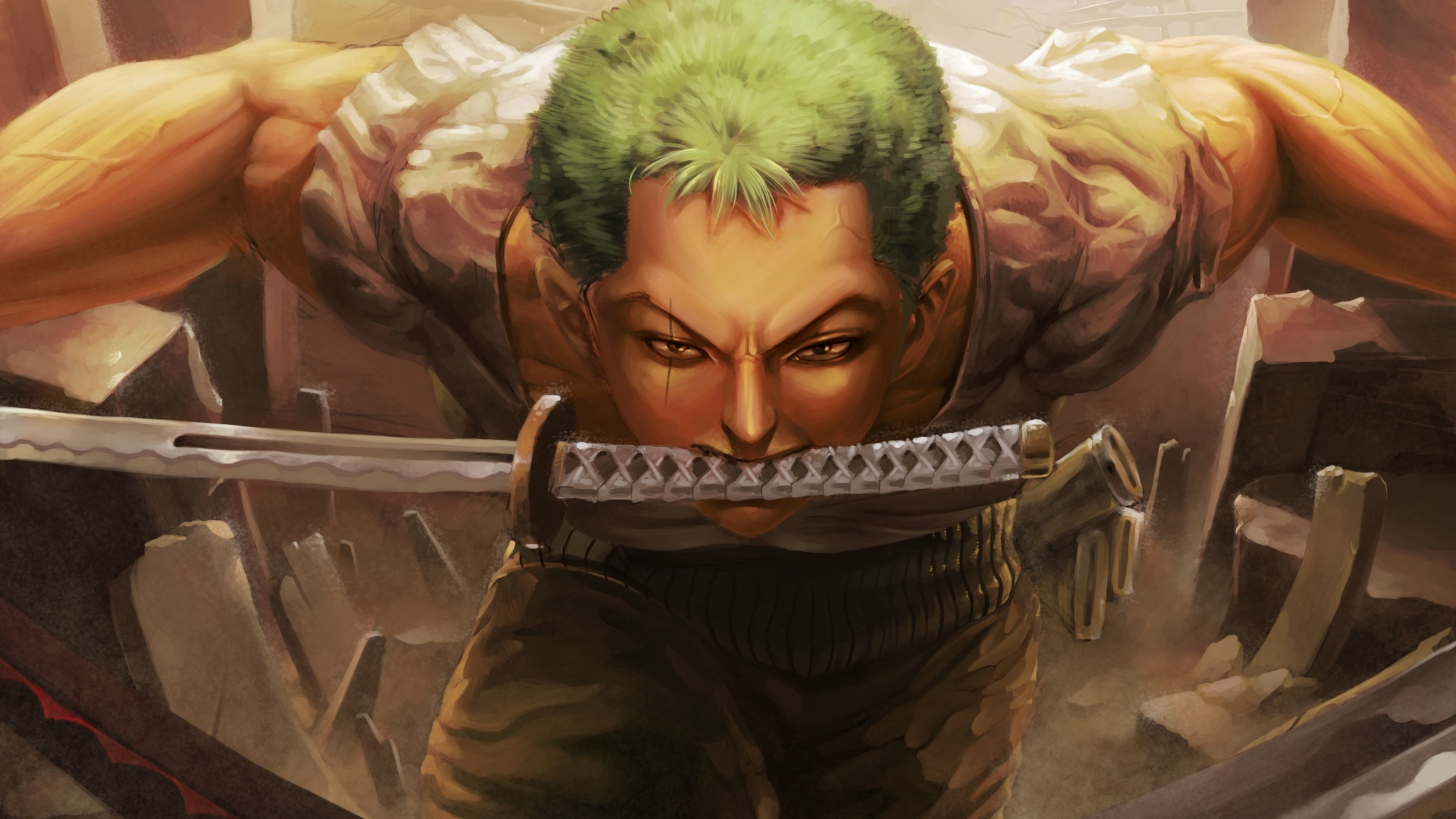 Roronoa Zoro Hd Wallpapers Posted By Ryan Sellers