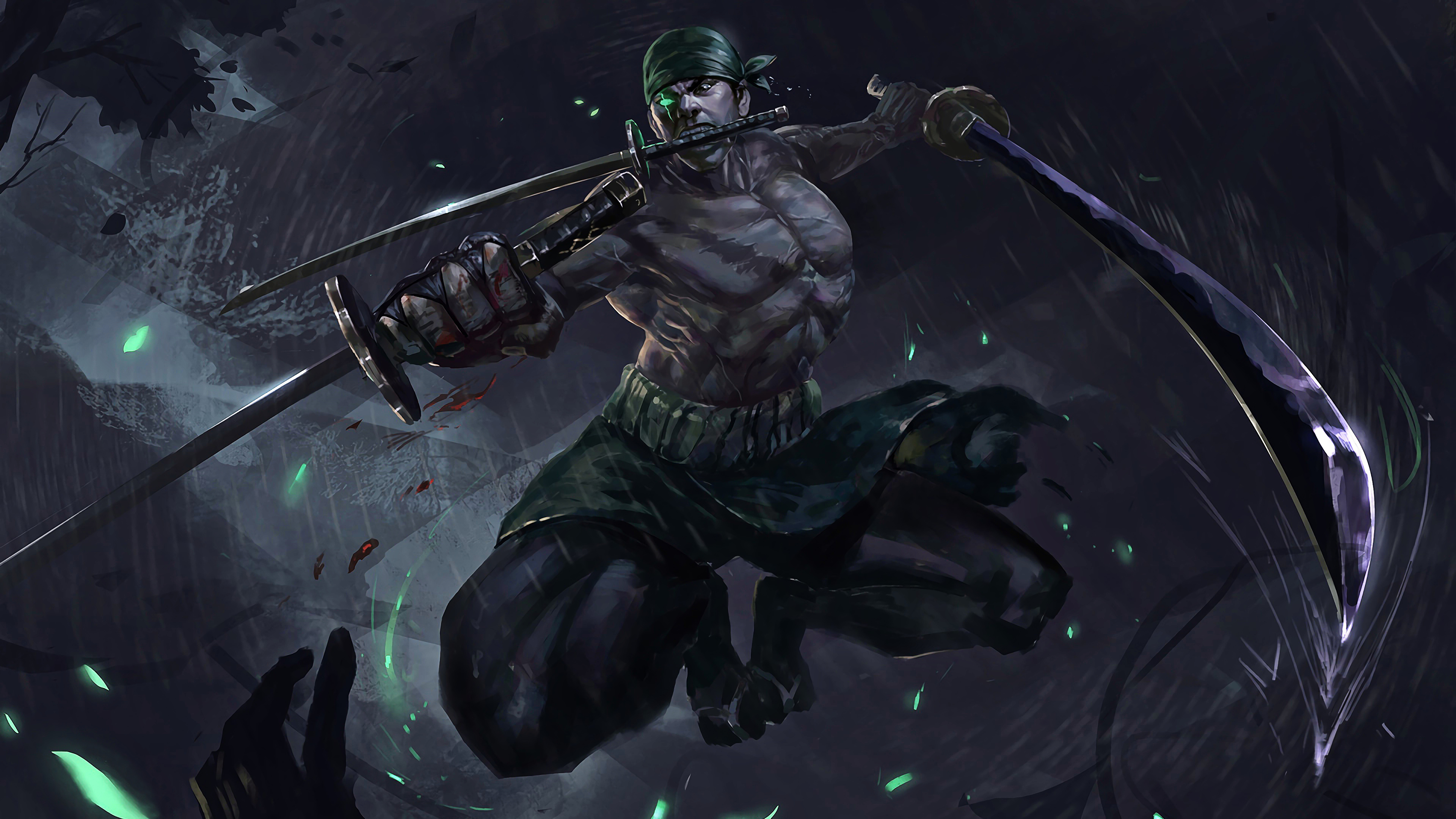 Hd High Resolution Wallpaper Roronoa Zoro Katana Sword One