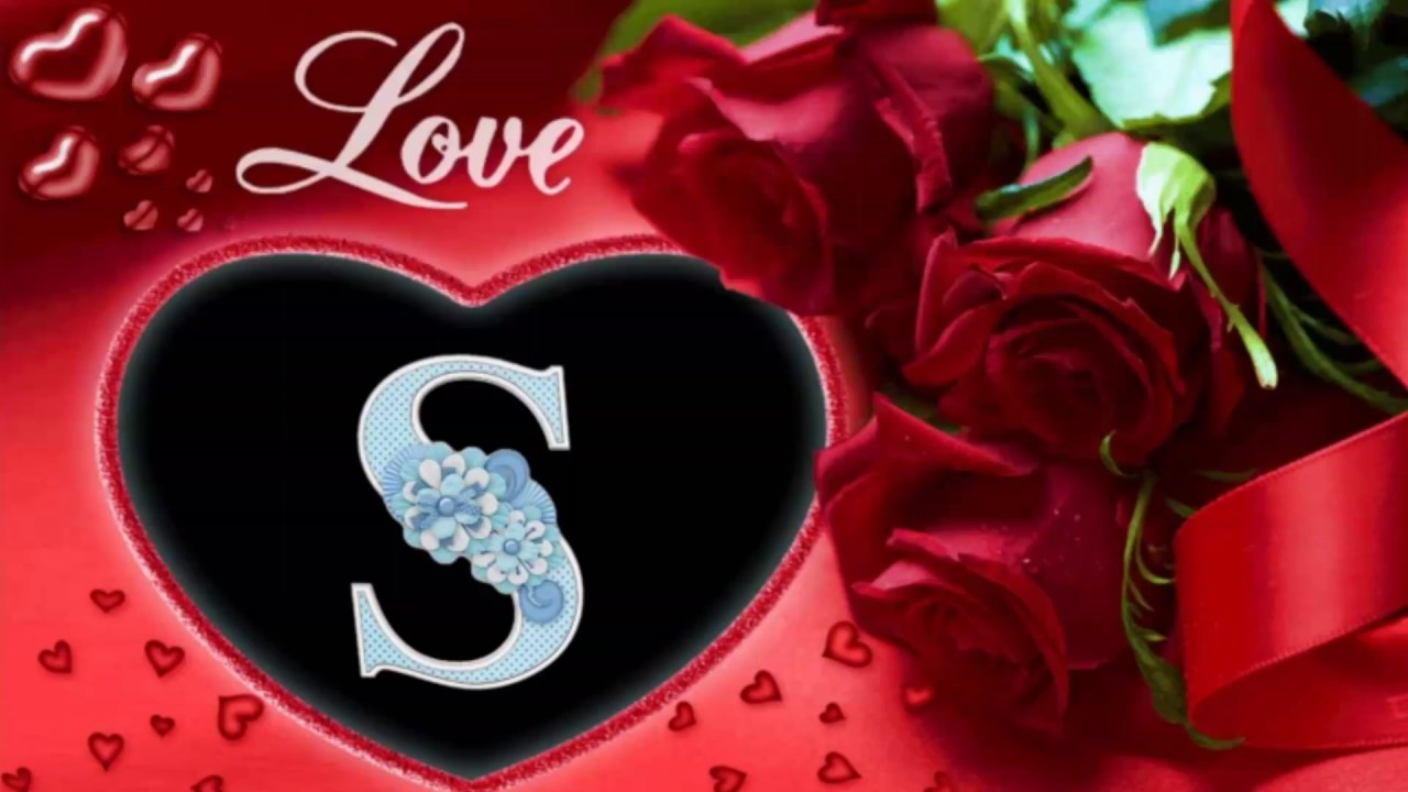 S.letter pictures rose wallpapers. Flowers profile pictures