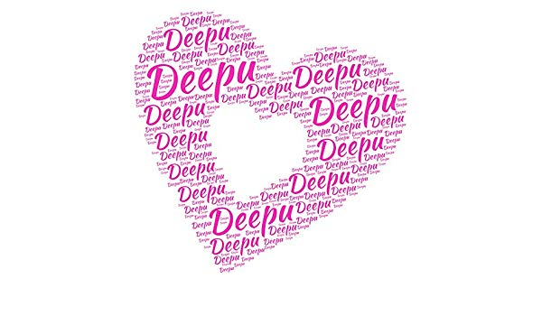 Buy DeStudio Deepu Name Sticker PVC Vinyl Film, 60 cm x