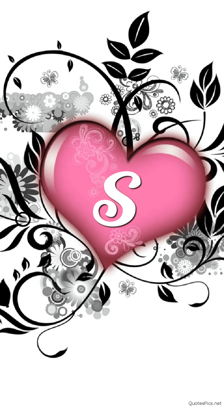 S S Letter In Love Wallpapers Posted By Christopher Mercado