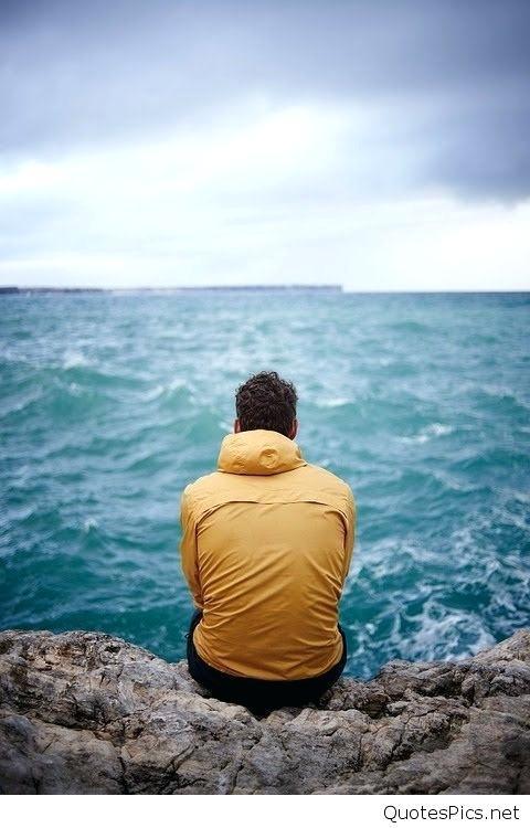 Sad Alone Boy Posted By Michelle Mercado