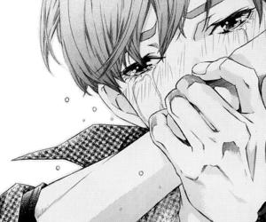 Sad Anime Boy Crying Posted By John Cunningham