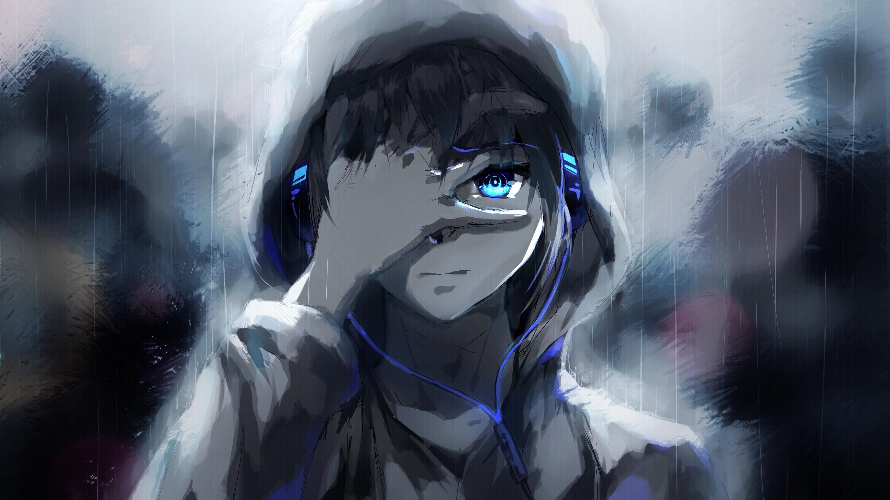 Sad Anime Boy Wallpapers Posted By John Thompson