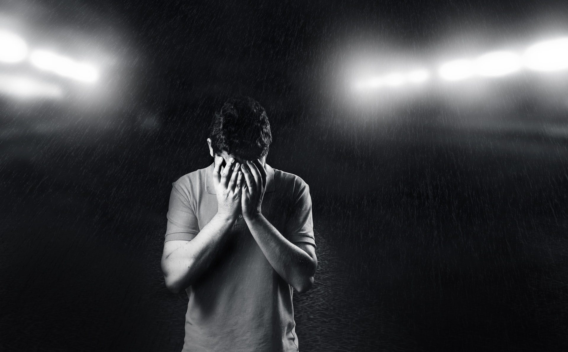 Sad Boy Alone In Rain Wallpaper Posted By Ryan Tremblay