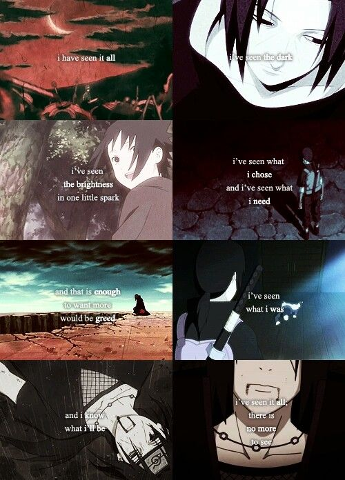 Pain Naruto Quotes Wallpaper Uchiha Itachi Sad Text Quote