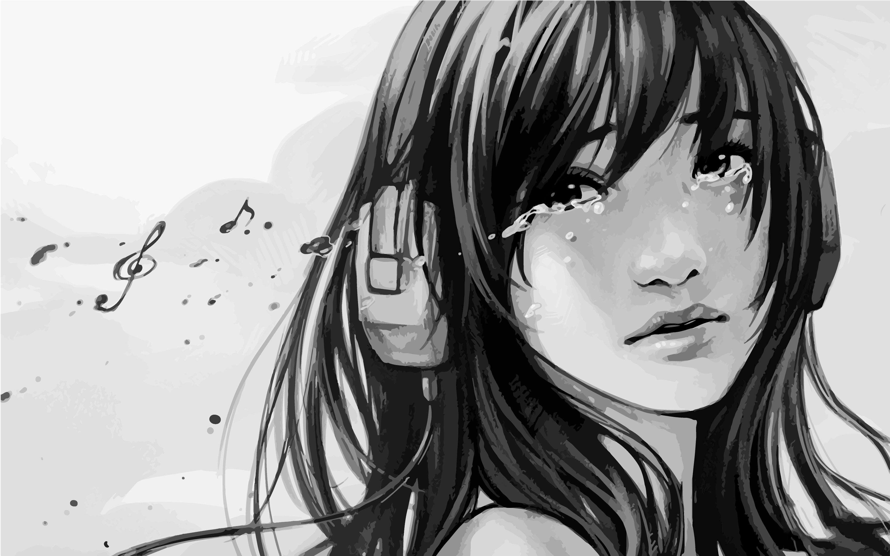 Anime Love Wallpaper Tumblr Sad Anime Girl Tumblr Gallery