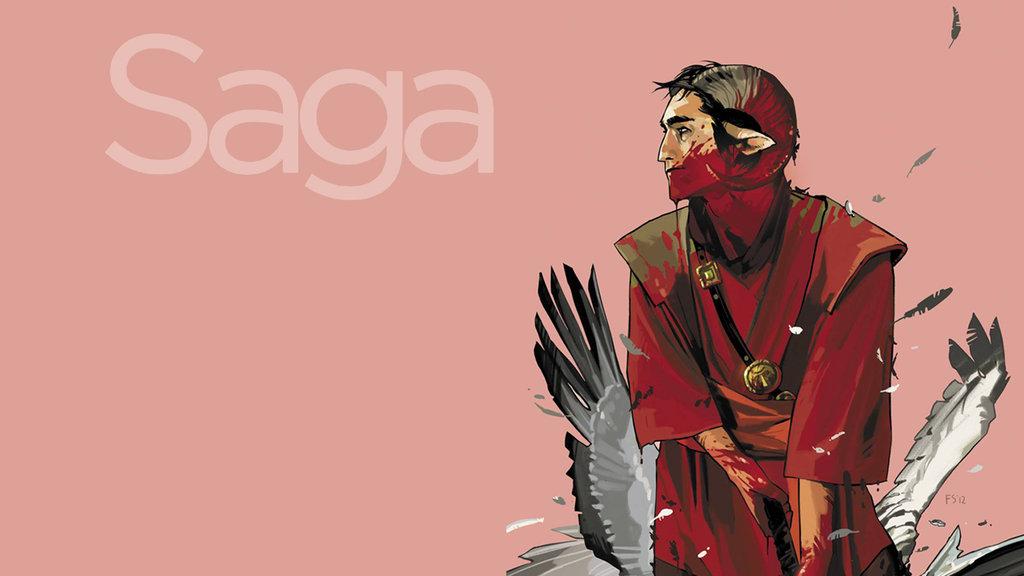 Saga Comic Wallpaper Posted By John Simpson