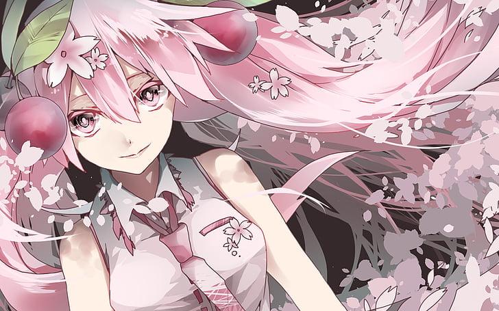 Sakura Miku Wallpapers Posted By Ryan Sellers