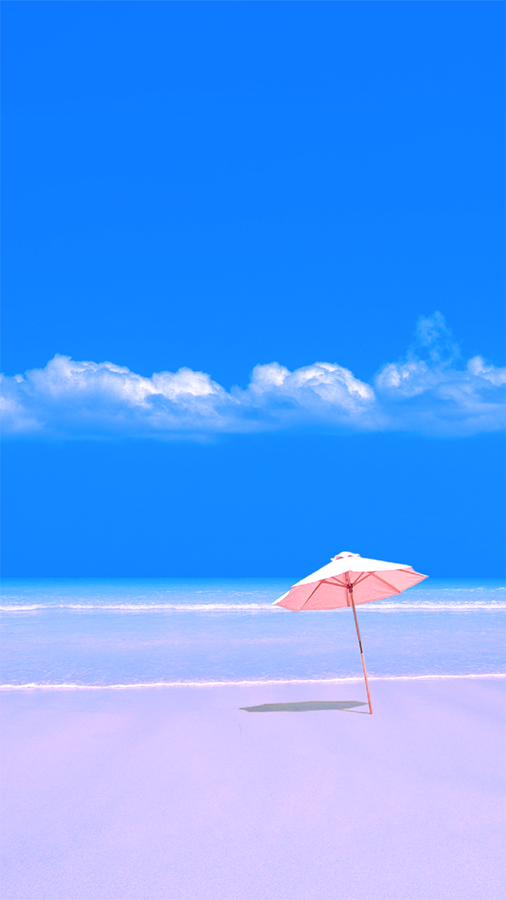 1 Wallpaper Free Wallpaper Phone Beach Umbrella Wallpaper