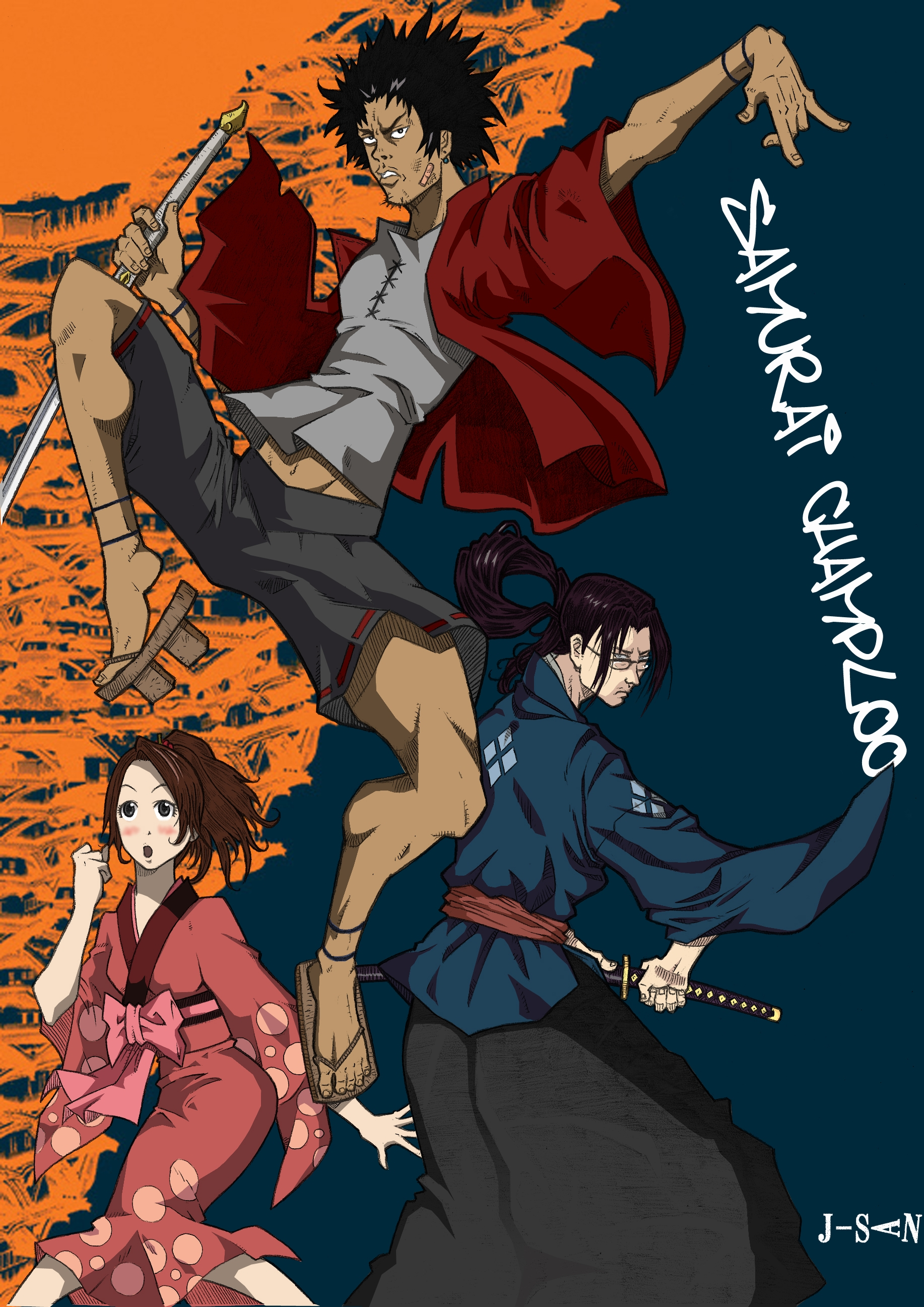 Samurai Champloo Iphone Wallpaper Posted By Michelle Thompson