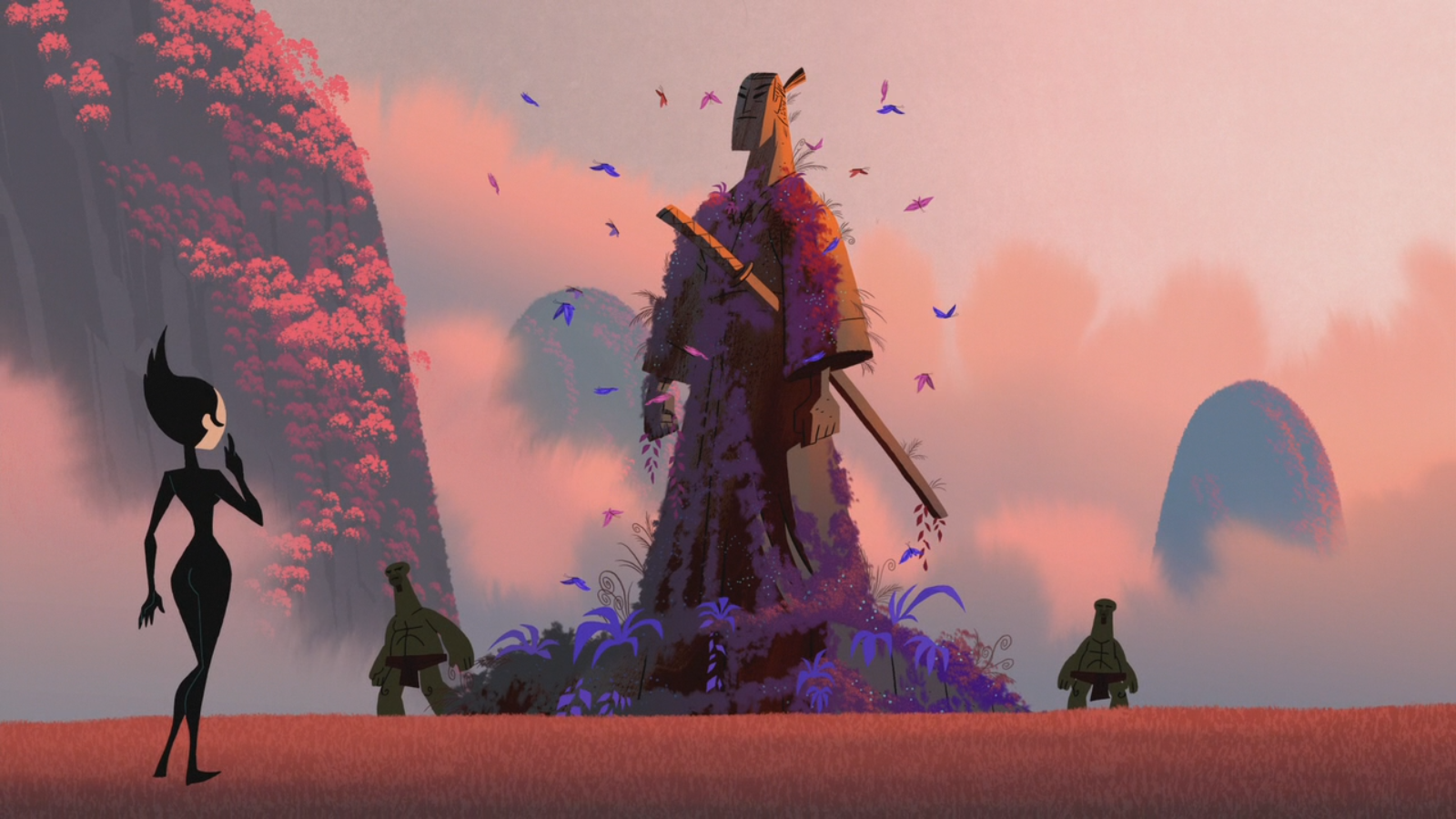 Samurai Jack Season 5 Backgrounds Posted By John Peltier