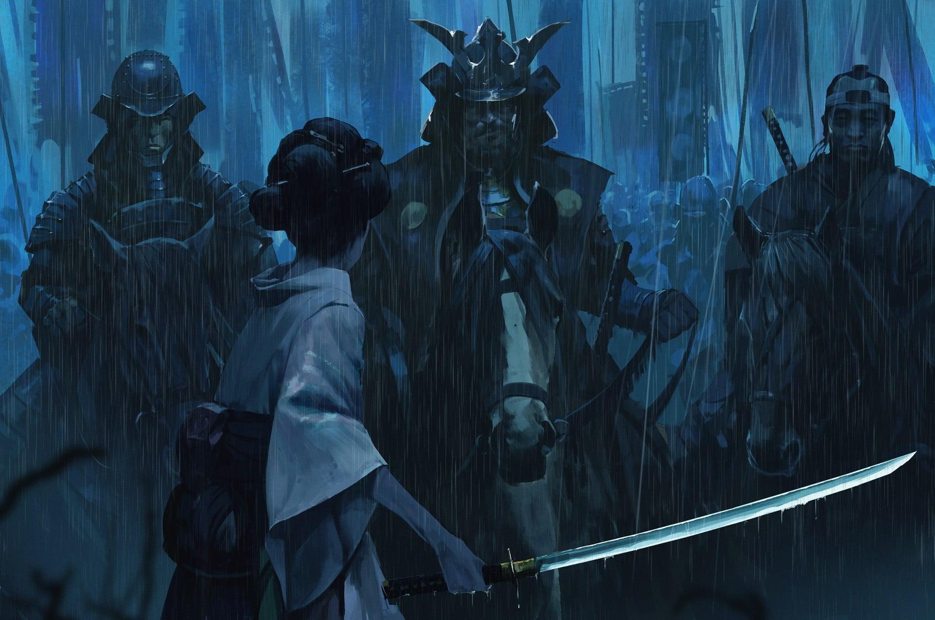 Samurai Wallpaper 4k Posted By John Tremblay