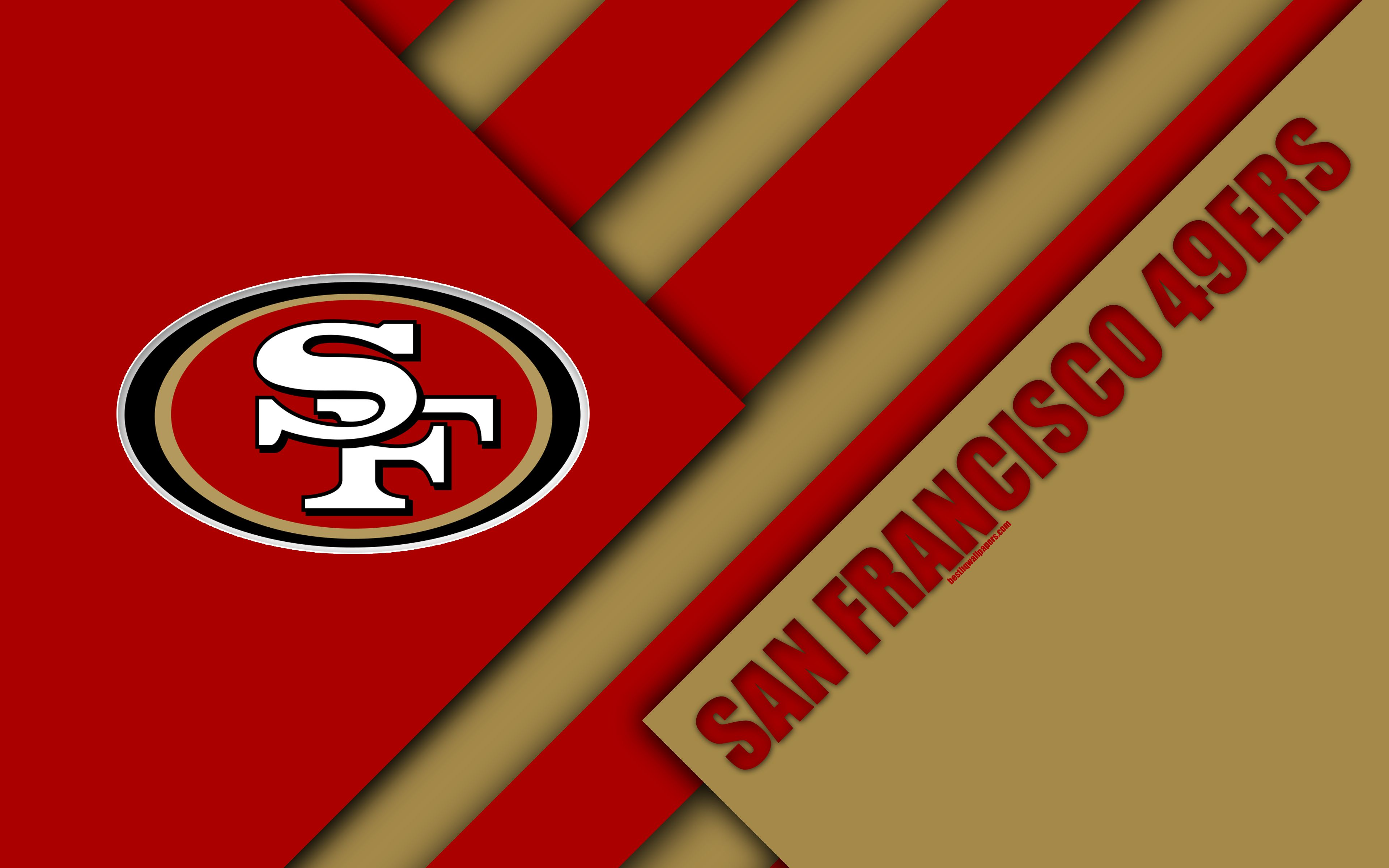 San Francisco 49ers Logo Wallpaper Posted By Samantha Simpson