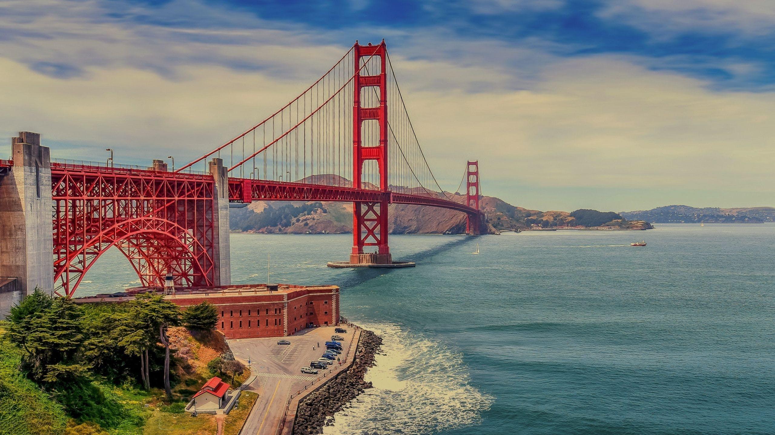 San Francisco Golden Gate Bridge Wallpaper Posted By Christopher Thompson