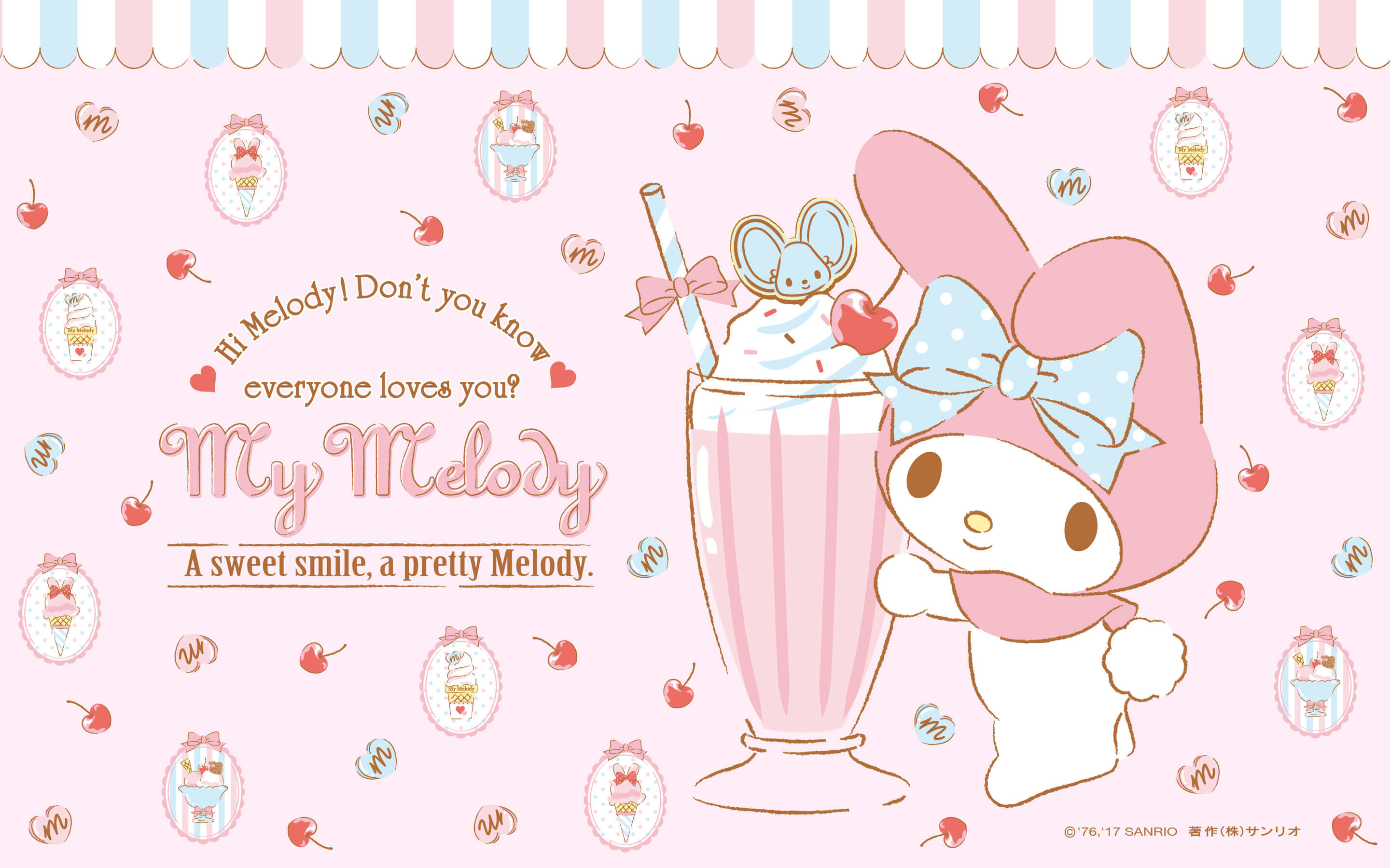 Sanrio Desktop Wallpaper Posted By Ethan Cunningham