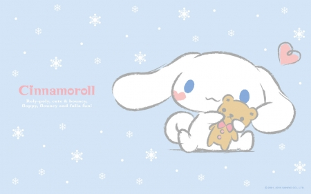 Blue Cinnamoroll Hello Kitty and Anime Background Wallpapers