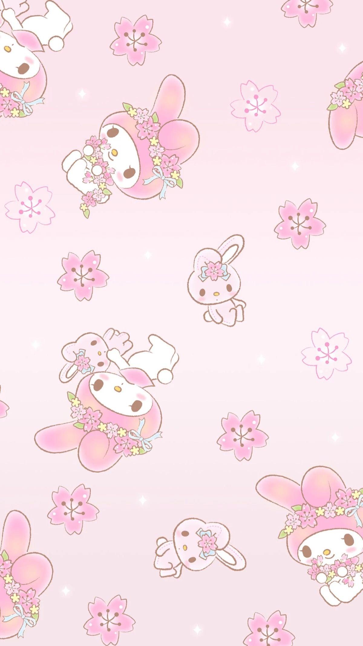 My Melody My Melody Wallpaper Sanrio Wallpaper Pastel