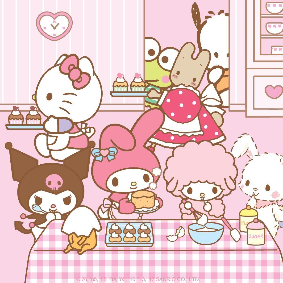 Sanrio Wallpaper Hello Kitty Wallpaper Tamagotchi Sanrio