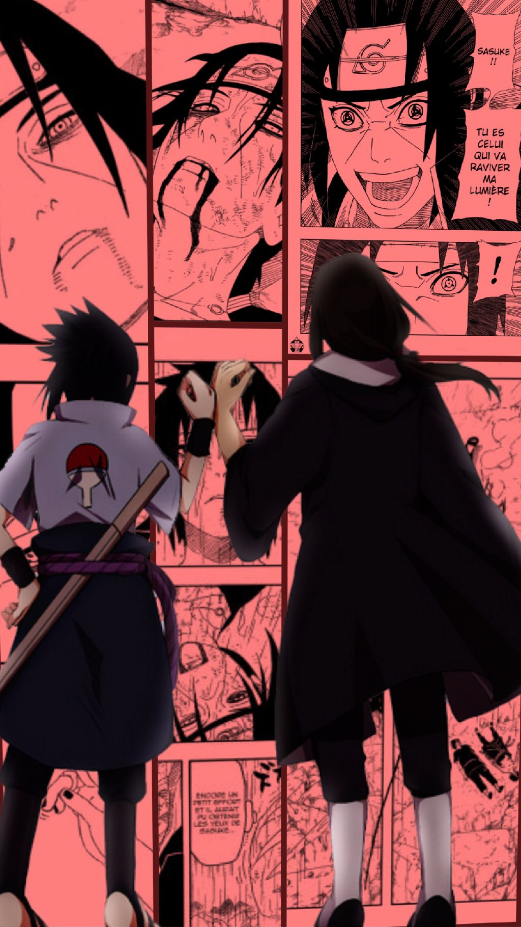 Iphone Itachi And Sasuke Wallpaper Hd