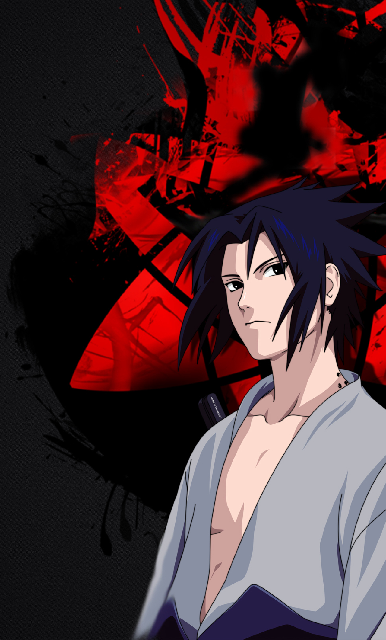 1280x2120 Sasuke Uchiha iPhone 6 plus Wallpaper HD Anime 4K