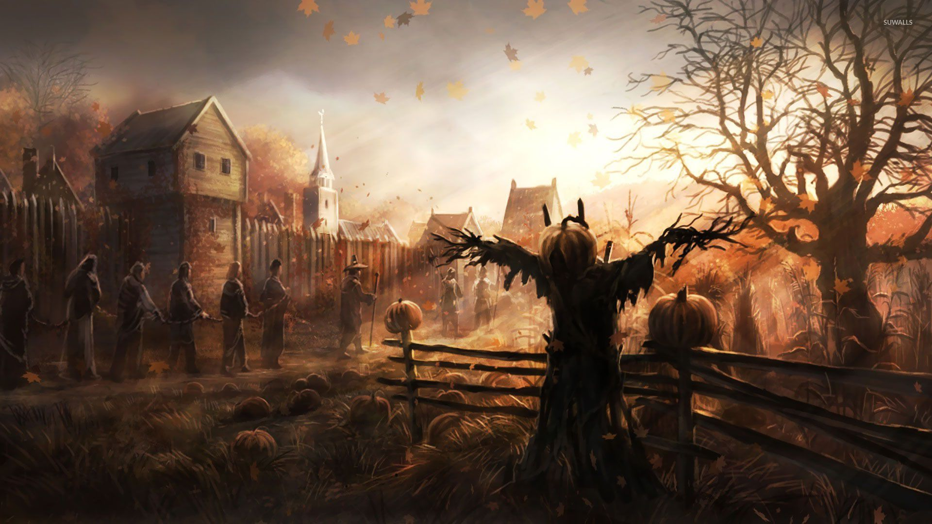 Scarecrow Wallpaper Posted By John Thompson