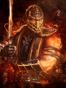 Scorpion Mortal Kombat Wallpaper Posted By Zoey Thompson