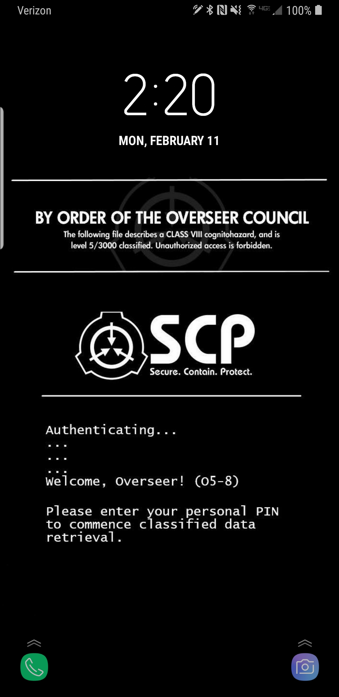 Scp Phone Wallpaper Posted By Sarah Peltier