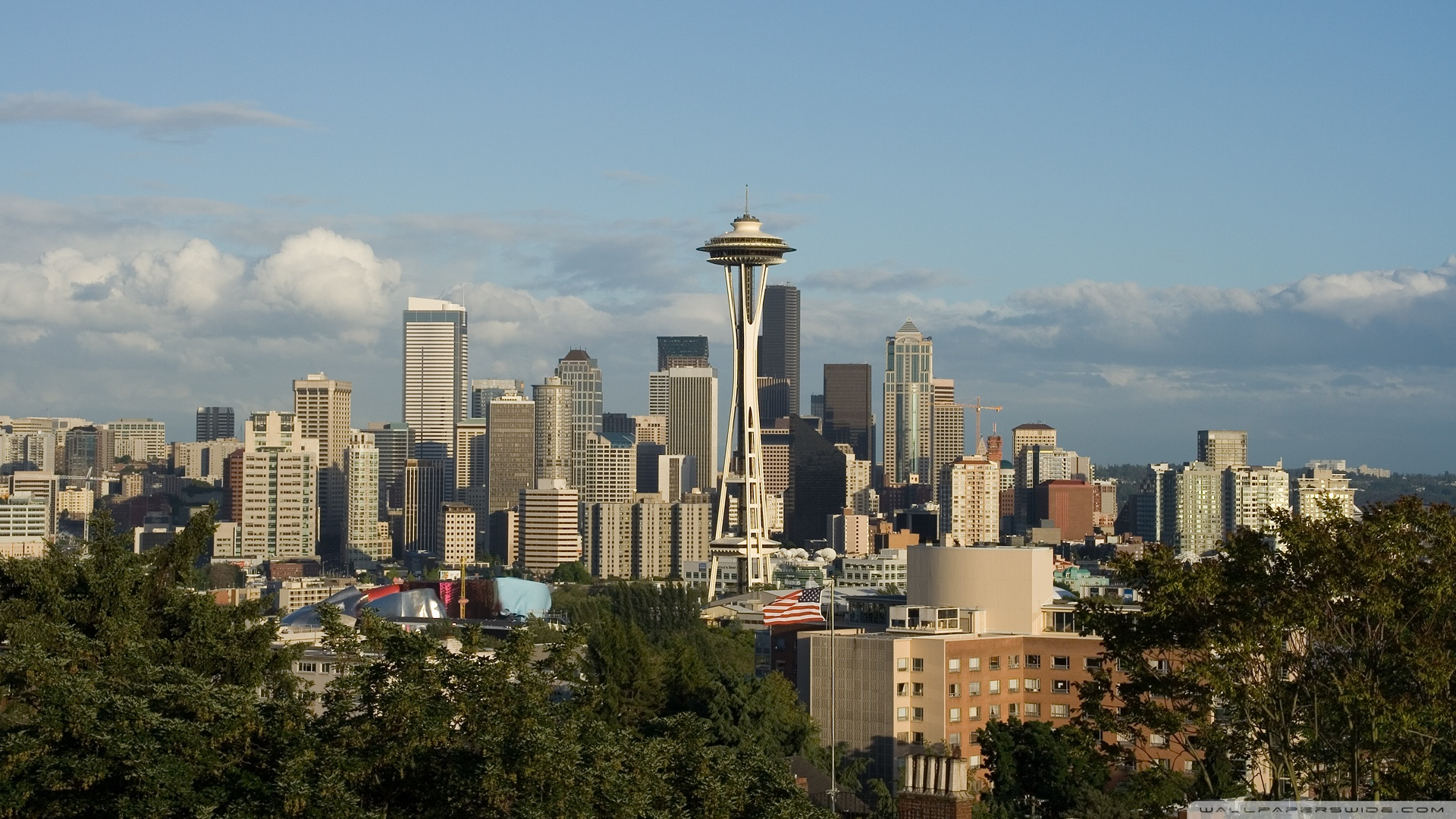 Seattle Hd Wallpaper Posted By Zoey Simpson