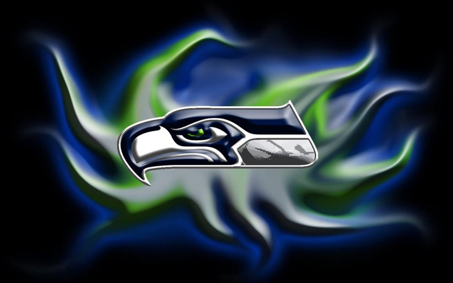 Seattle Seahawks Logo Wallpaper Posted By Sarah Mercado