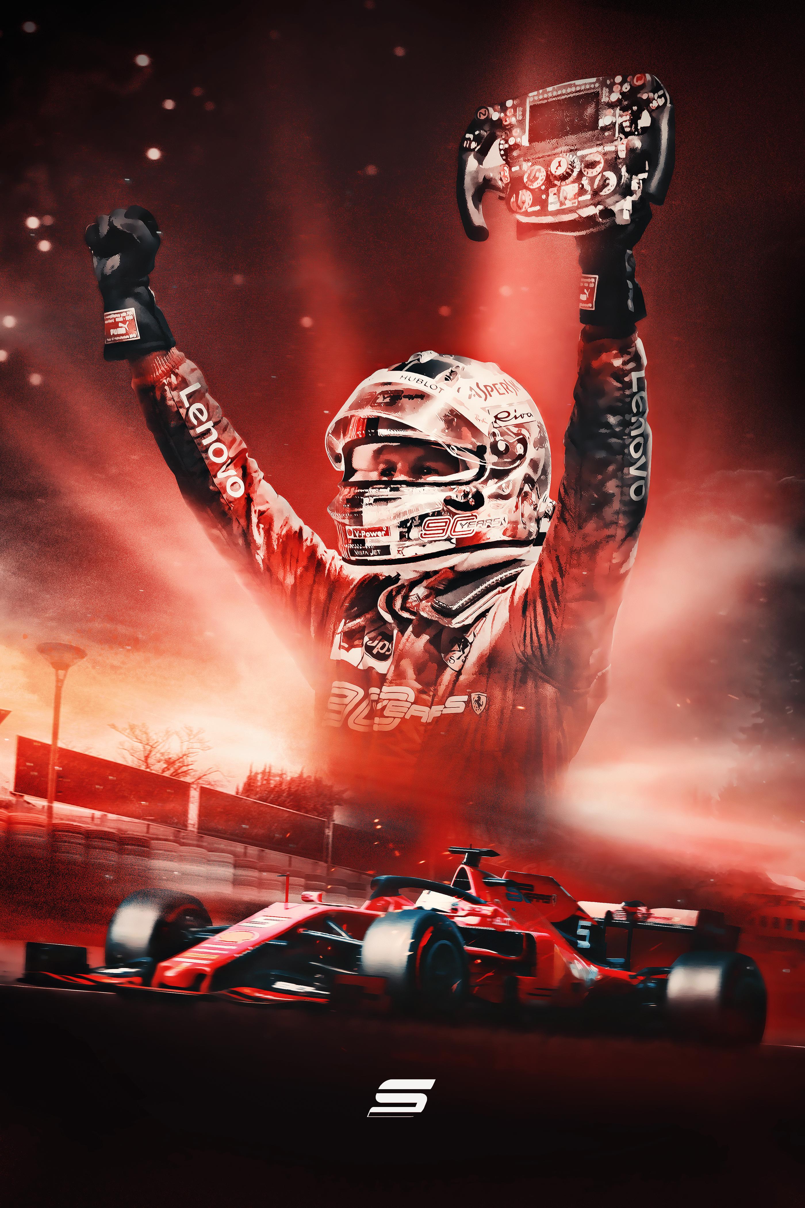 Sebastian Vettel Wallpaper Posted By Zoey Cunningham