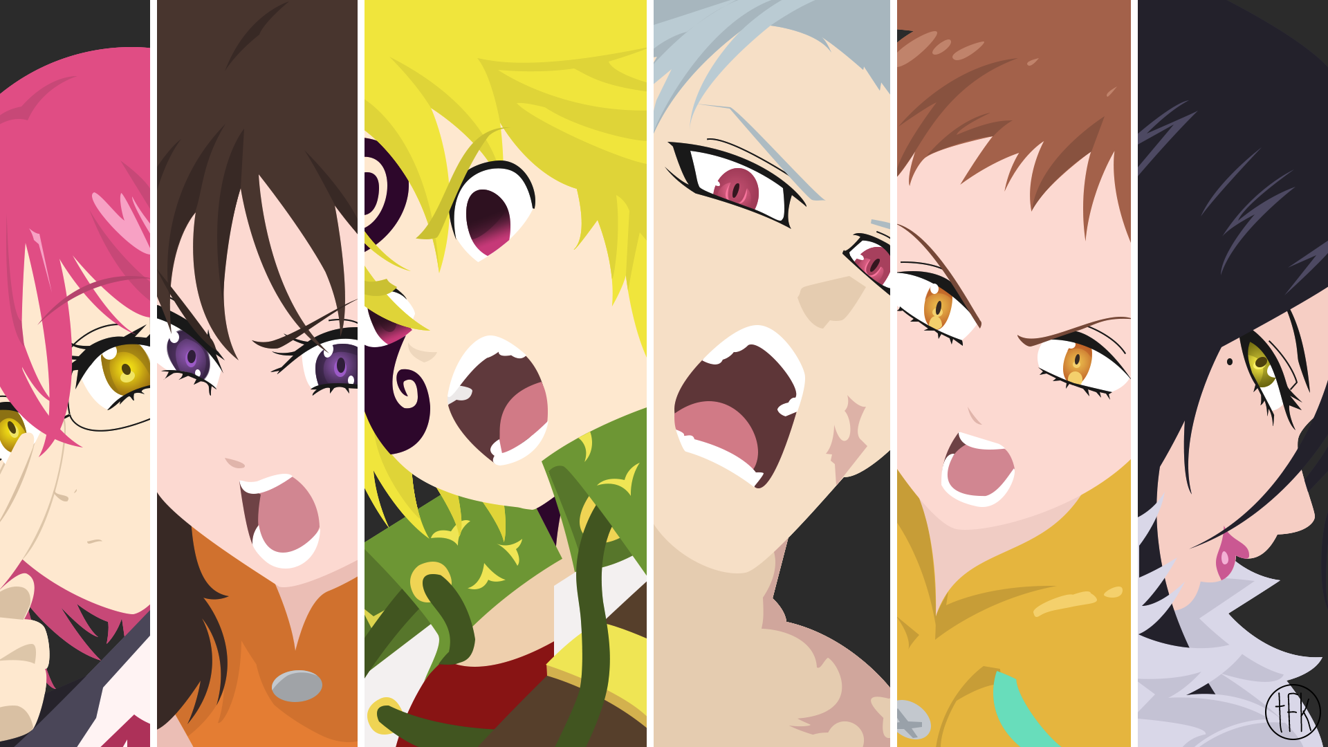 Seven Deadly Sins King Wallpaper Posted By Ethan Anderson