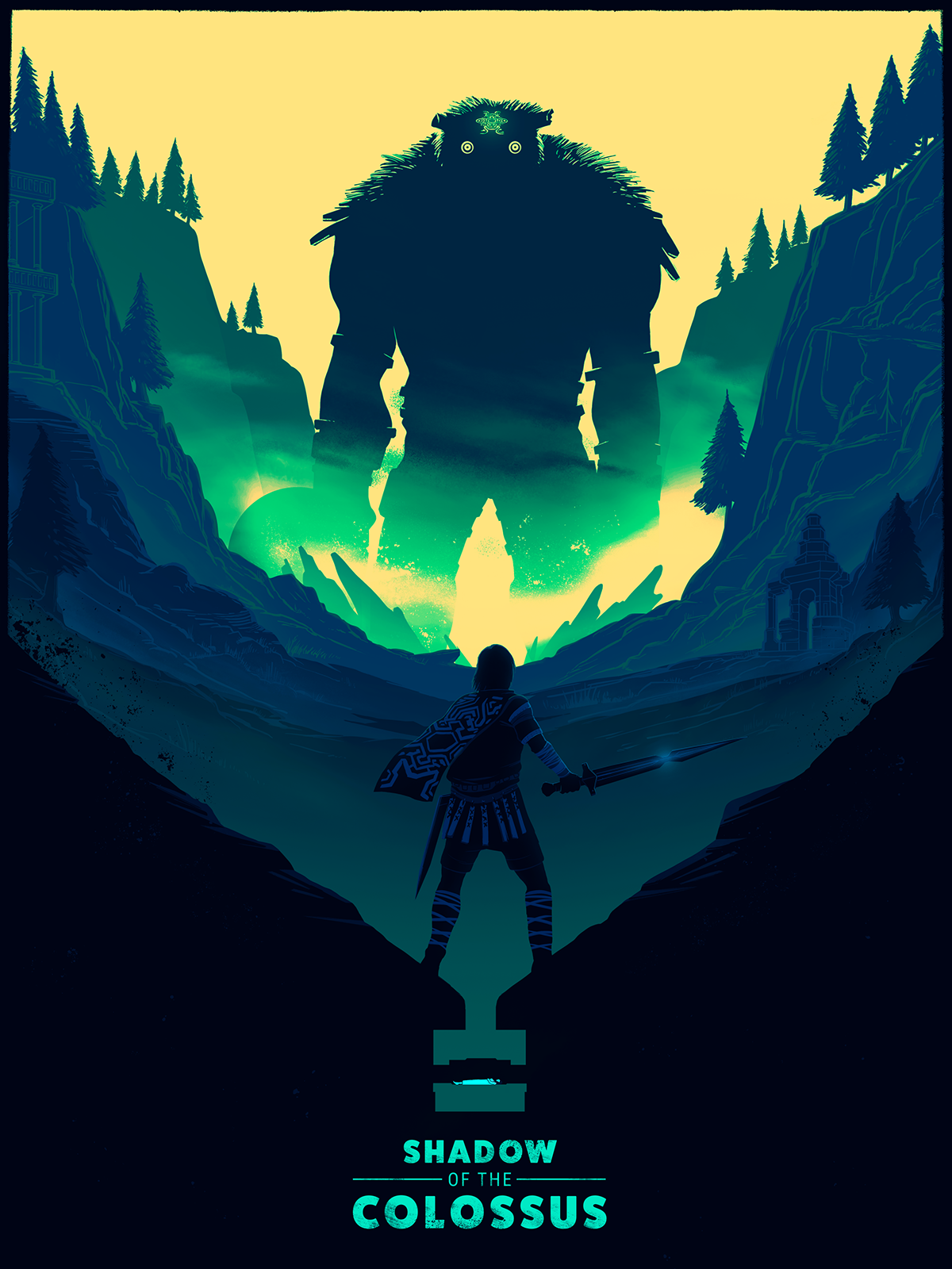 Shadow Of The Colossus Phone Wallpaper Posted By Samantha Johnson