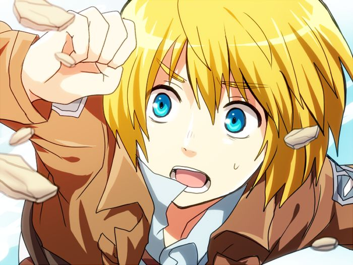 Shingeki No Kyojin Wallpaper Armin Posted By Sarah Peltier