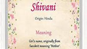Shivani Name Meaning Posted By John Mercado