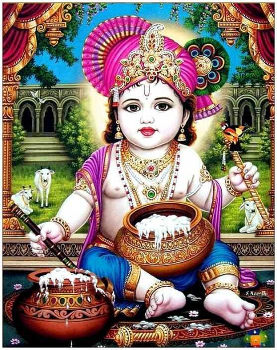 Chor, Nanha, Bal, Gopal, Cute, Krishna, Mobile, Wallpaper