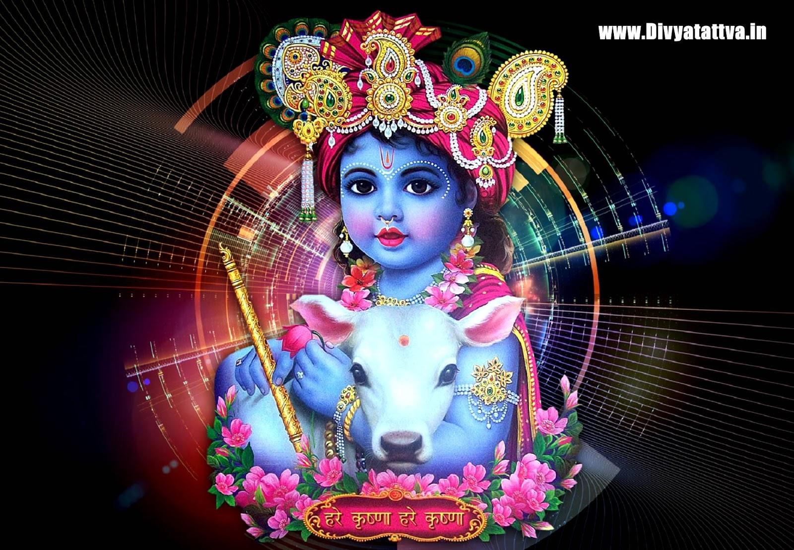 Shree Bal Gopal Bhagvan Full Hd Wallpaper Posted By Michelle Thompson