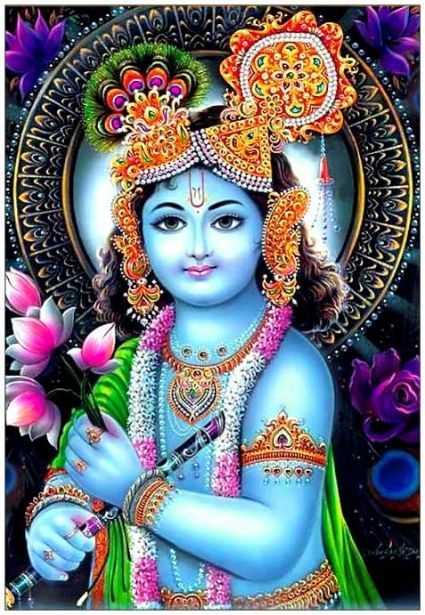 Whatsapp DP Profile Status, Blue, Krishna, Mobile, Wallpaper