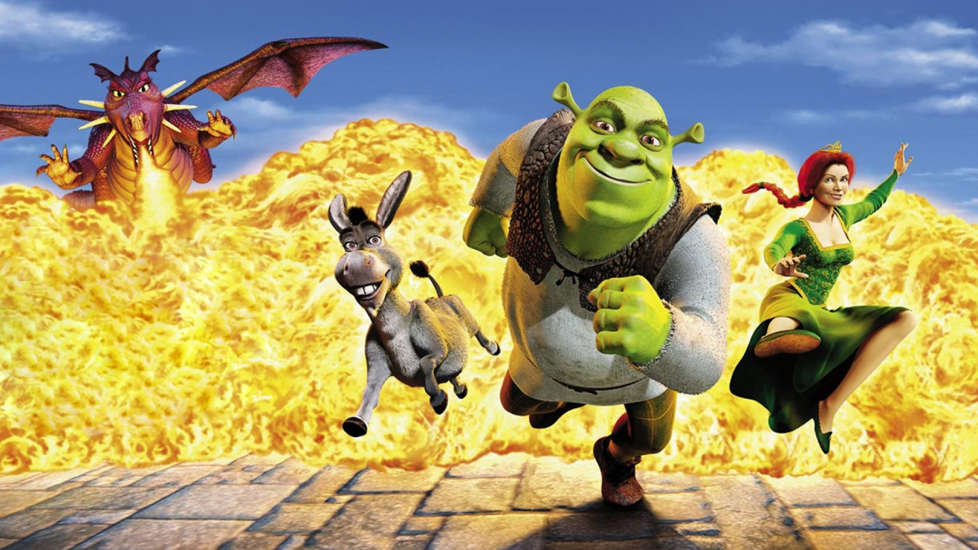 Shrek Background Posted By Ethan Cunningham