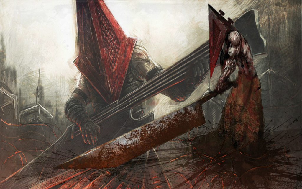 Silent Hill Pyramid Head Wallpaper Hd Posted By Zoey Anderson