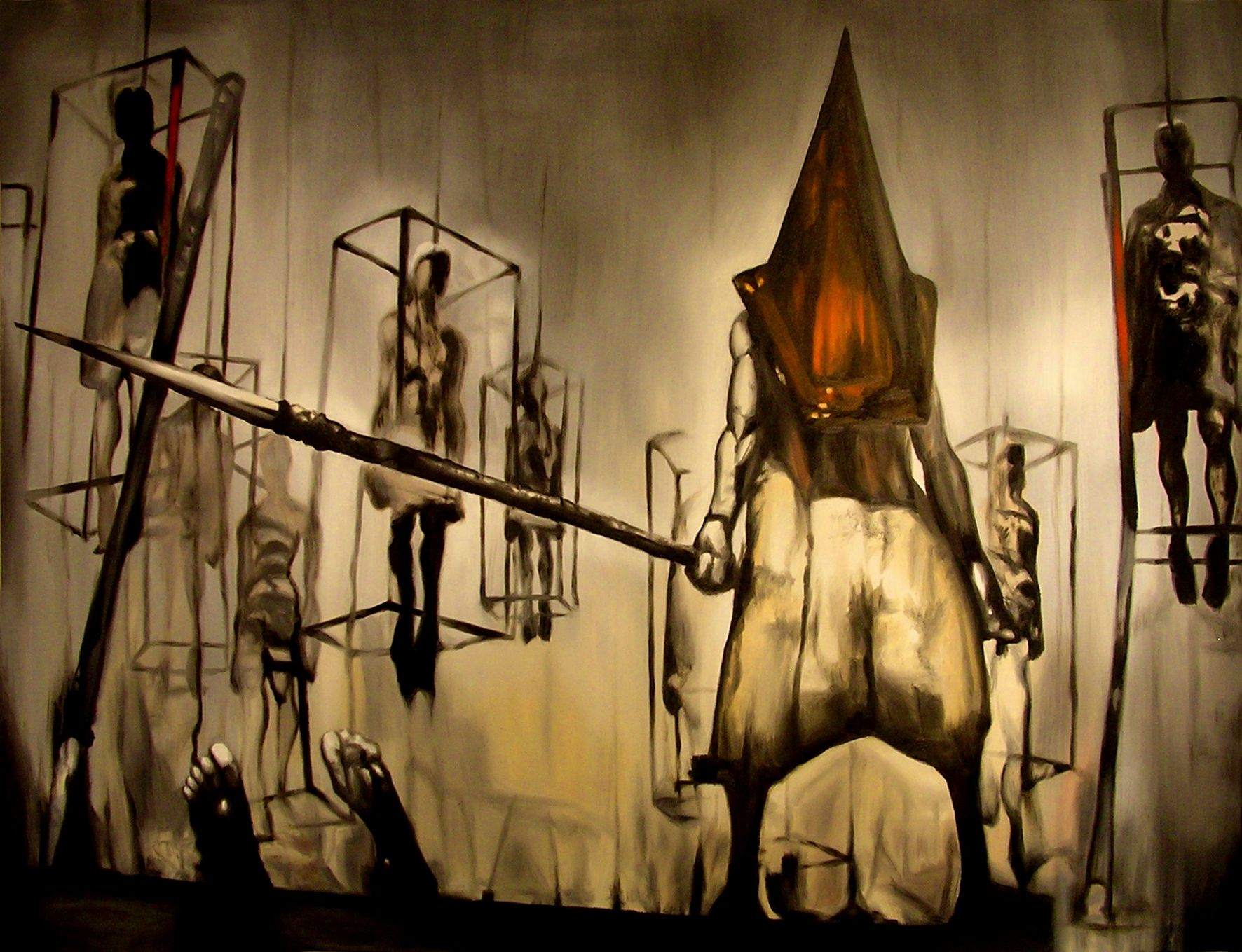 Silent Hill Pyramid Head Wallpaper Posted By Christopher Mercado